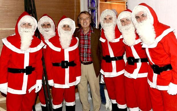 Massa e Alonso evento de Natal Ferrari F1 (Foto: Divulgação)