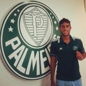 Rodolfo com a camisa do Palmeiras (Foto: Reprodução/Instagram)