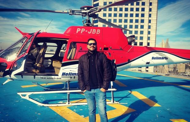 Minha viagem de helicóptero por R$ 25