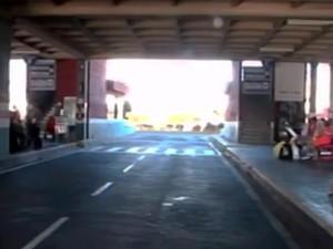 Rodoviária de Feira de Santana amanheceu sem ônibus nesta quarta-feira (Foto: Reprodução/TV Bahia)