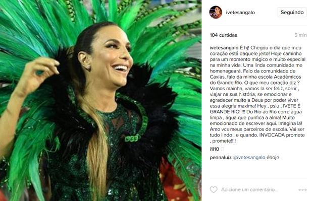 Ivete Sangalo (Foto: Reprodução / Instagram)