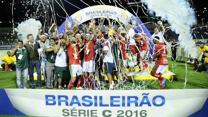 Boa Esporte, campeão Série C (Foto: Rodrigo Villalba/ GloboEsporte.com)