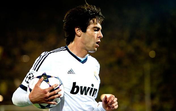 Kaká jogo Real Madrid  (Foto: AFP)