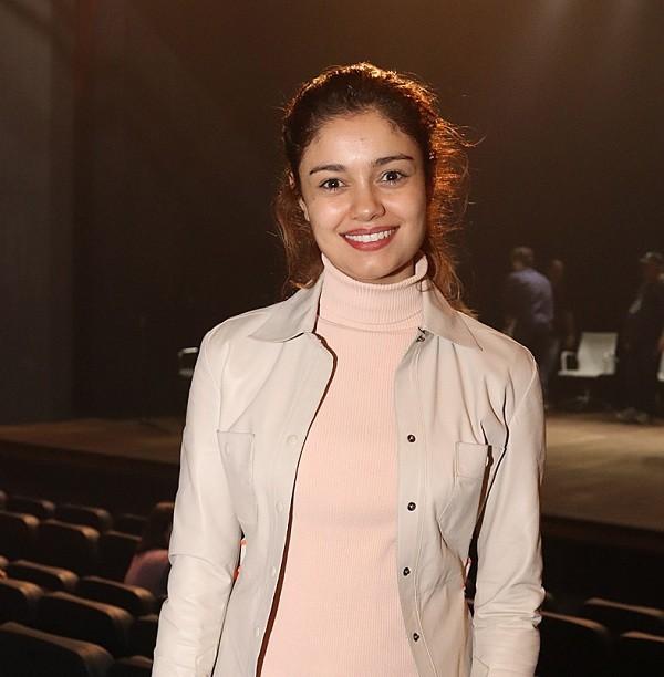 Sophie Charlotte leu a nova peça de Domingos Oliveira no domingo (13), no novo Teatro XP Investimentos  (Foto: Murillo Tinoco/ Divulgação)