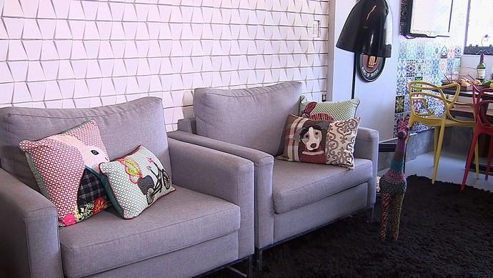 Fun Design é tendência na decoração de ambientes (Foto: TV Sergipe)