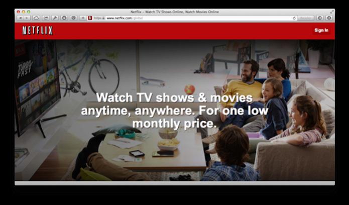 Safari do OS X Yosemite já exibe vídeos do Netflix de forma nativa (Foto: Reprodução/AppleInseider) (Foto: Safari do OS X Yosemite já exibe vídeos do Netflix de forma nativa (Foto: Reprodução/AppleInseider))