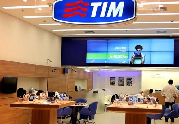 Loja da TIM Brasil (Foto: Divulgação)