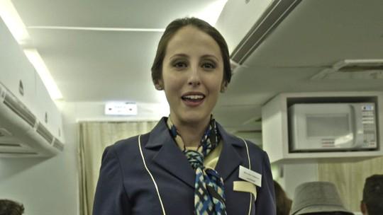 'Tá no Ar' apresenta uma companhia aérea com um cardápio diferente