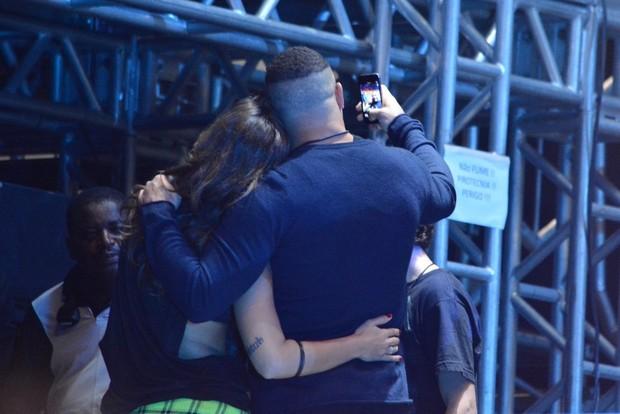Ronaldo com a noiva Paula Morais (Foto: Caio Duran / AgNews)
