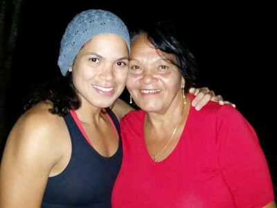Amanda Nunes; Ivete Nunes (Foto: Arquivo Pessoal)