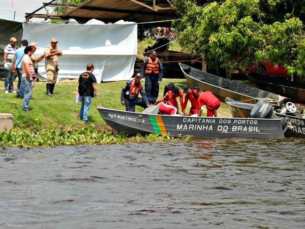 Mais dois corpos foram encontrados no Rio Paraguai (Foto: Tatiane Queiroz/ G1MS)