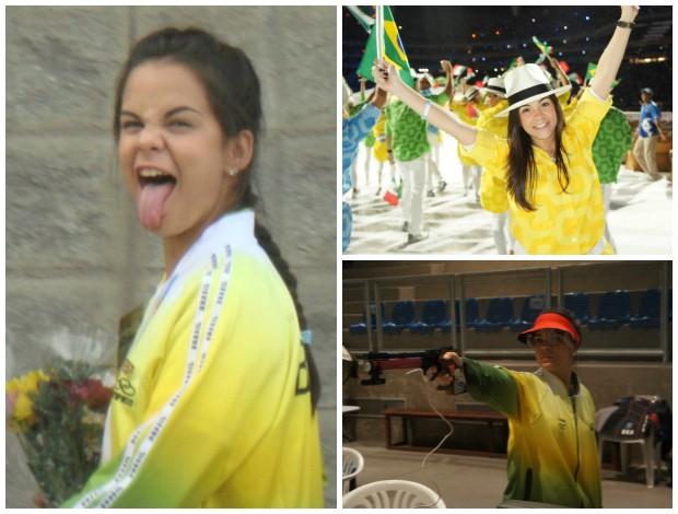 thaís moura tiro esportivo arretados olímpicos (Foto: Arte/Globoesporte.com)