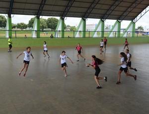 Fase regional dos Jogos Escolares de Rondônia, em Ariquemes (Foto: Eliete Marques)