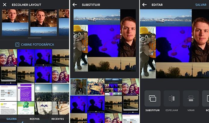 Layout e outros aplicativos podem ser ajudar a criar ícones com colagem de fotos no Android (Foto: Reprodução/Elson de Souza)