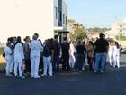 Funcionários do Hospital Municipal de Uberlândia fazem mobilização