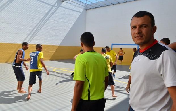 Valdebrânio da Silva, árbitro rondoniense que sonha com Fifa (Foto: Jonatas Boni)