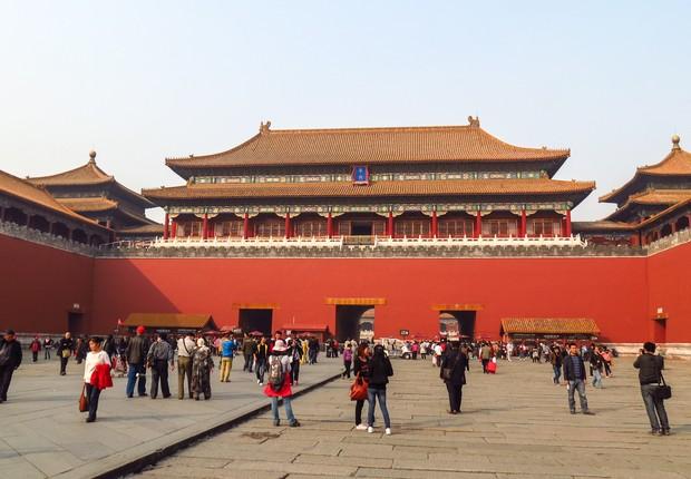 Cidade Proibida em Pequim, na China (Foto: Wikimedia Commons/Wikipedia)