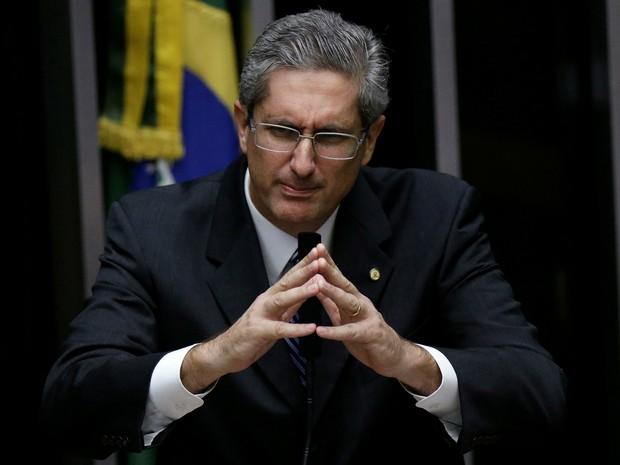 Rogério Rosso discursa durante eleição para presidente da Casa (Foto: Reuters/Ueslei Marcelino)