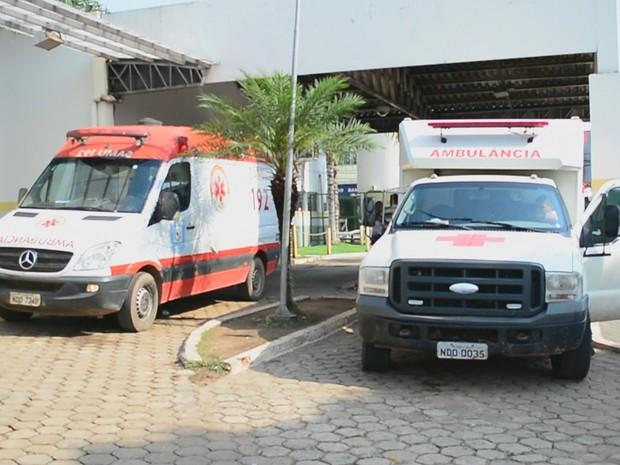 Porto Velho possui apenas cinco ambulâncias, e somente uma é UTI Móvel (Foto: Rede Amazônica/Reprodução)