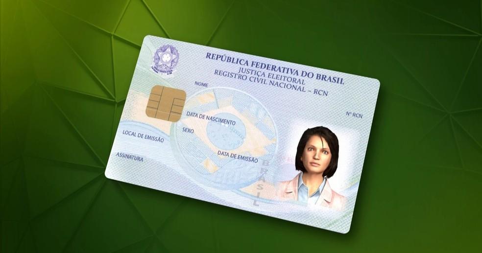 Documento de identificação unificado (Foto: Reprodução/TV Globo)