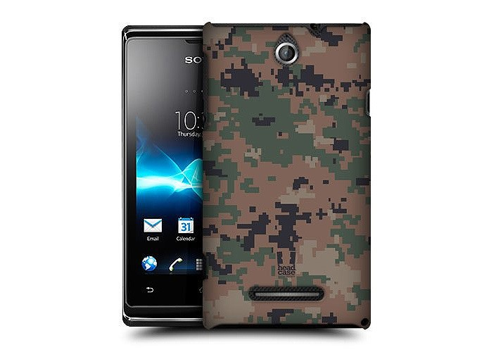 Capa com estampa militar para Sony Xperia E (Foto: Divulgação/Amazon)