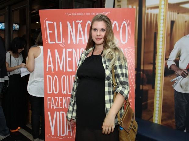Carolinie Figueiredo em pré-estreia de filme no Rio (Foto: Thyago Andrade/ Foto Rio News)