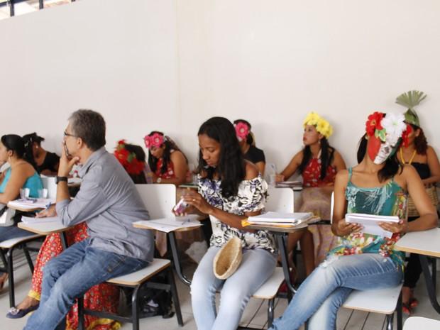 Pernambuco ganha a primeira turma de professores indígenas formados na universidade federal (Foto: Secretaria Estadual da Educação/Divulgação)