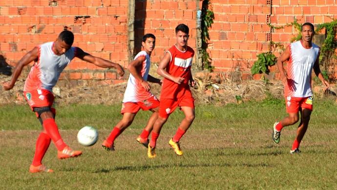Jogo treino do Rio Branco (Foto: Nathacha Albuquerque)