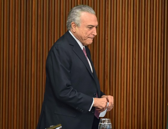O presidente interino Michel Temer (Foto: RICARDO BOTELHO/BRAZIL PHOTO PRESS)
