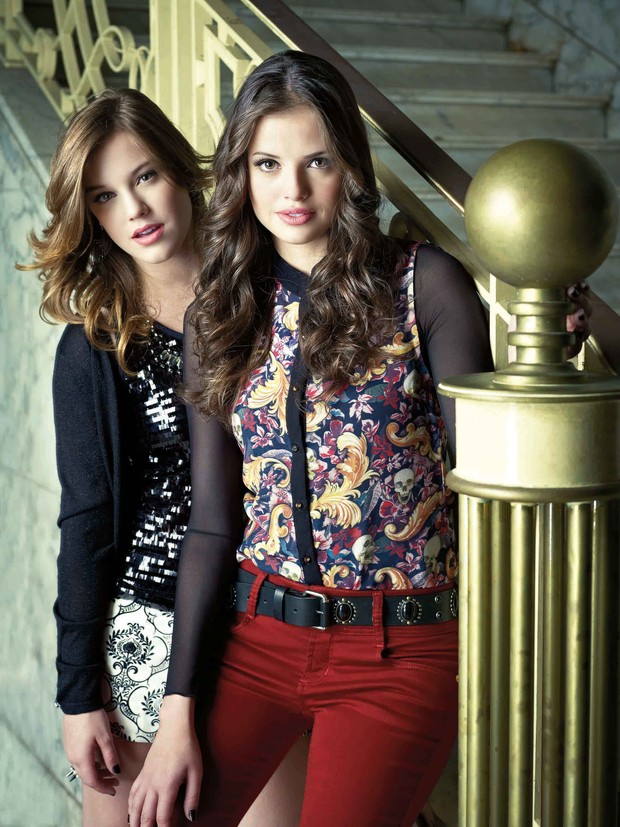 Alice Wegmann e Agatha Moreira (Foto: Luis Morais/Divulgação)