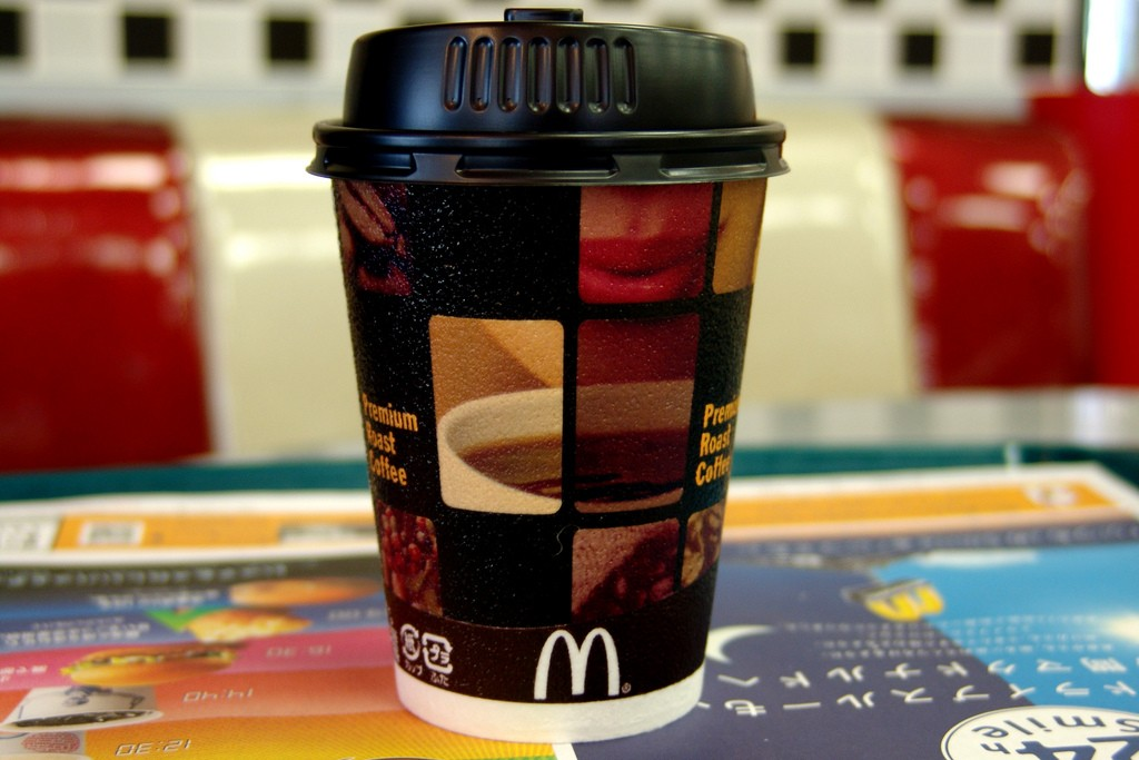 Cafeína nas bebidas (Foto: Domínio Público)