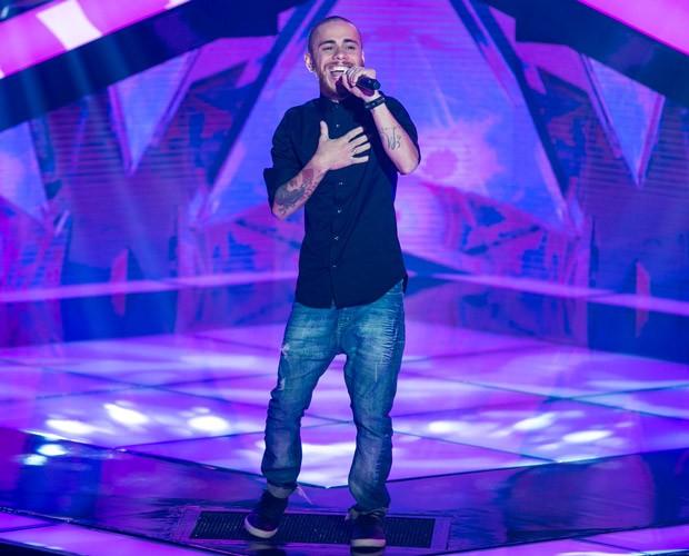 Joey Mattos encantou os 4 técnicos (Foto: Isabella Pinheiro/ TV Globo)