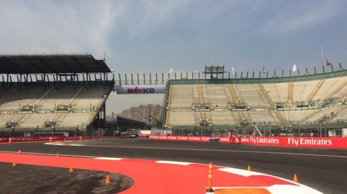 Autódromo Hermanos Rodriguez Cidade do México palco GP do México de F-1 (Foto: Reprodução/Twitter)