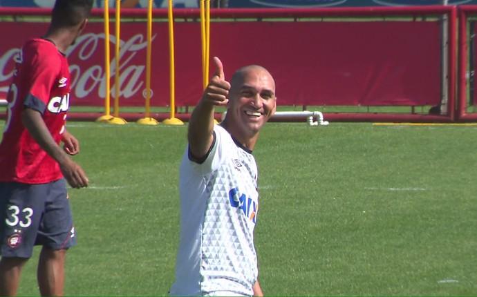 Ednelson Conceição Atlético-PR (Foto: Reprodução/ RPC)