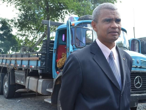 Caminhão carregado com pedras é apreendido com 700 kg de maconha (Foto: Patricia Carvalho / G1)