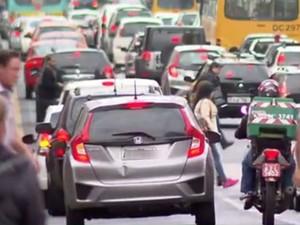 Aproximadamente 700 mil pessoas circulam pelo centro de Curitiba diariamente (Foto: Reprodução/ RPC)