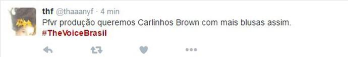 Tweet Brown Gato (Foto: Reprodução da Internet)
