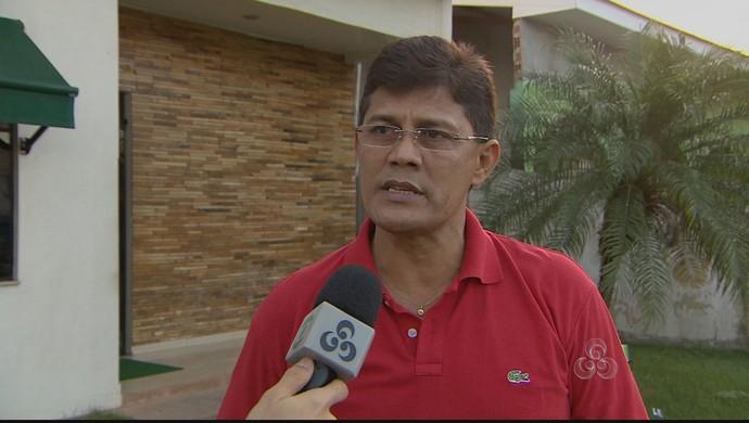 Diretor Técnico da FAF, Vicente Cruz (Foto: Reprodução/TV Amapá)