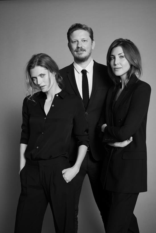 Da esquerda para a direita: Malgosia Bela, Filip Niedenthal e Kasia Kulczyk (Foto: Divulgação)