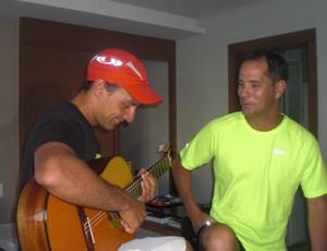 Deficiente visual, Ironman, Fortaleza  (Foto: Thaís Jorge )