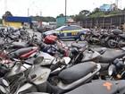 PRF leiloa mais de 370 veículos em condições de rodar, no Paraná