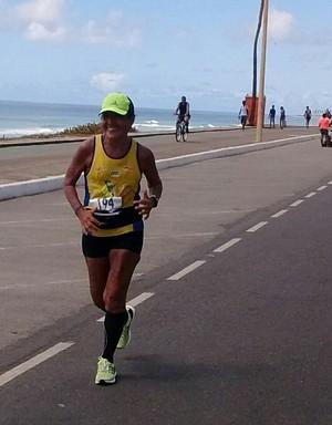 Mesmo com proibição dos médicos atleta voltou a competir em 2015 (Foto: Tânia Pombo/Arquivo Pessoal)