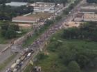 Moradores de Marituba voltam a protestar contra aterro sanitário