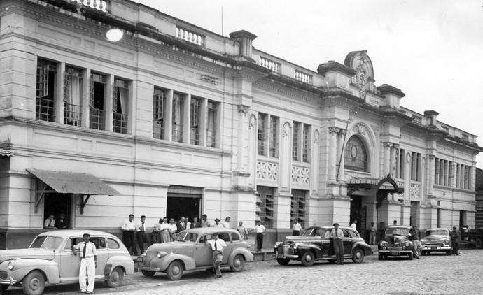 Estação de Sorocaba (Foto: Museu Histórico Sorocabano)