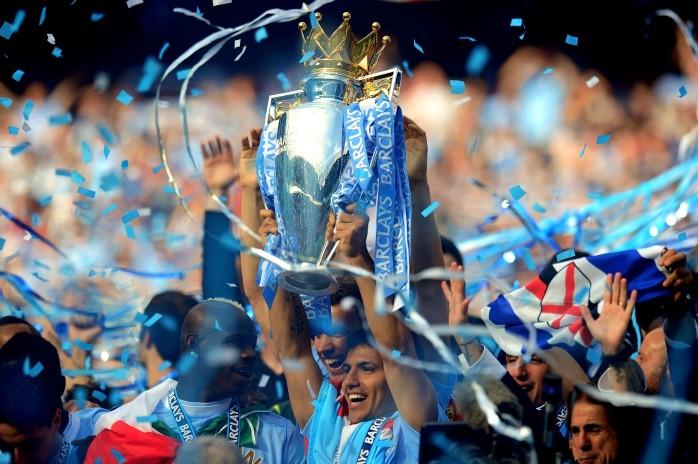 Sergio Agüero título Manchester City 2012