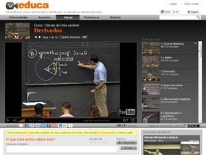Veduca, videoaulas, aulas em vídeo (Foto: Reprodução)
