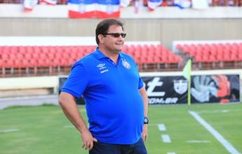 """Guto Ferreira lamenta decisões durante jogo e diz: """"O culpado sou eu"""""""