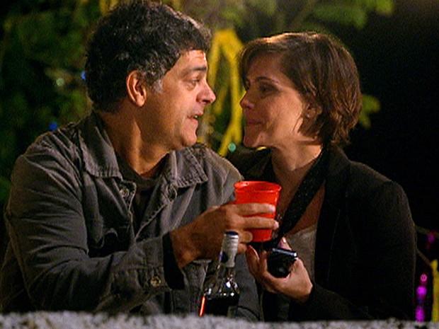 Léo e Giovana terminam igual há 15 anos (Foto: Louco por Elas / TV Globo)