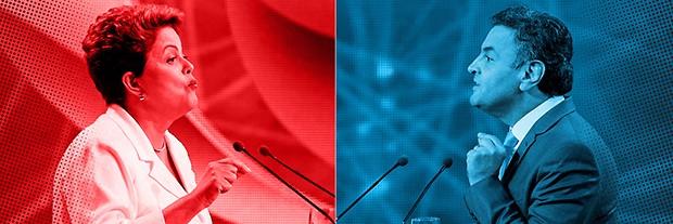 A eleição que divide o Brasil (Foto: Adriana Spaca/Brazil Photo Press/Estadão  Conteúdo e Nelson Antoine/Frame/Folhapress)