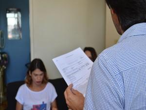 Aulas começaram em junho de 2015 e contam com voluntários  (Foto: Tássio Andrade/G1)